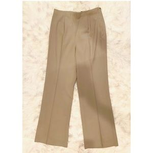 BANANA REPUBLIC Wool Blend Side Zip Dress Pants